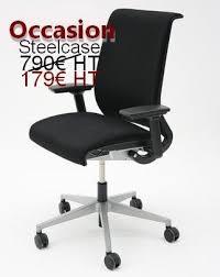 chaise de bureau steelcase siège steelcase