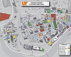 Maps Tennessee by Facilities Services The University Of Tennessee Knoxville