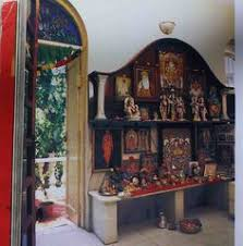 Puja Room Designs An Elegant Puja Room With Marble Floor And Hanging Bells And Idols