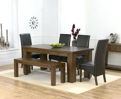Farmhouse Benches For Dining Tables Dining Table Farmhouse Benches For Dining Tables Chunky Table
