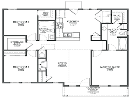 four bedroom house plans one story simple 4 bedroom house plans 4 bedroom 2 bath house plans small