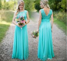 cheap wedding dresses in the uk cheap 2018 turquoise bridesmaid dresses lace prom gowns with