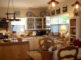 Farmhouse Kitchen Design Ideas by Magnificent White Kitchen Cabinets Set And Oak Wood Kitchen Island