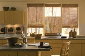 Wooden Curtains Blinds Home Anderson Custom Window Coverings Inc