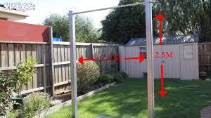 build pull up bar outdoor outdoor designs