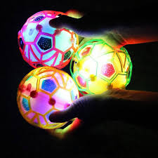 Jumping Light Led Light Jumping Ball Crazy Music Football Children U0027s Funny Toy
