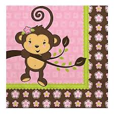girl baby shower monkey girl baby shower theme bigdotofhappiness