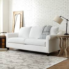 Pottery Barn Buchanan Sofa Review Lisa Loves John The Low Down On The White Sofa