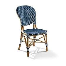 Navy Bistro Chairs Tiab Navy Finish Cafe Bistro Chair Size 35h X 17 X 21 Blue