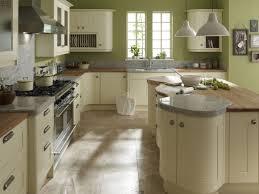 ivory kitchen ideas broken white wooden kitchen cabinet and kitchen island with brown