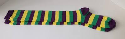 mardi gras socks mardi gras knee high socks