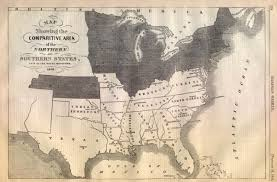 map us states during civil war map of the union and confederate states