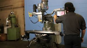 bridgeport ez trak cnc vertical mill youtube
