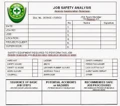 activity hazard analysis template eliolera com