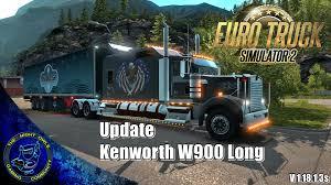 kenworth truck w900 euro truck simulator 2 kenworth w900 long update review game
