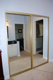 Closet With Mirror Doors Mirrored Closet Doors Closet Doors Pinterest Mirrored Closet