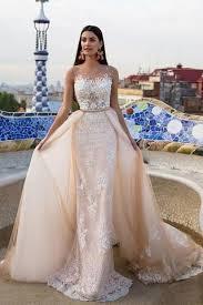 elegant wedding dress bride gown lace wedding dresses champagne