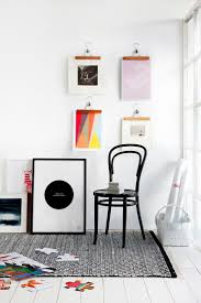 how to hang art prints 5 alternatives for hanging art without frames the everygirl