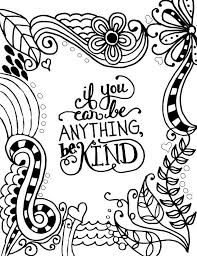 coloring pages for you if you can be anything be designs