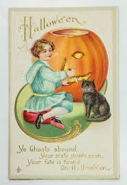 victorian halloween postcards mark lawson antiques