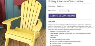 Yellow Plastic Adirondack Chair Adding Bright Red Adirondack Chairs To Our Side Patio Young