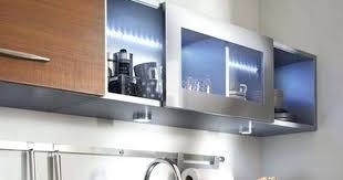 ikea cuisine meuble haut blanc lments ultra porte coulissante