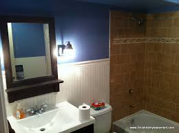bathroom finishing ideas fancy design ideas basement bathroom unique one mans quest to
