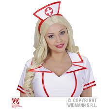 nurse headpiece from halloween hq