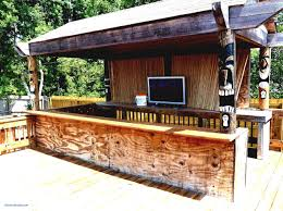 Backyard Bar Ideas Tiki Bar Ideas Furniture Tiki Backyard Beautiful Free