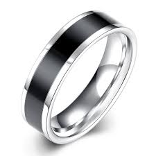 Mens White Gold Wedding Rings by Online Get Cheap Men U0026 39 S White Gold Wedding Ring Aliexpress Com
