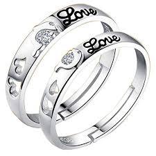 finger rings girls images Adjustable couple rings for love jwelleries for women finger rings jpg