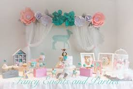 Baby Shower Pastel - kara u0027s party ideas pastel woodland baby shower kara u0027s party ideas