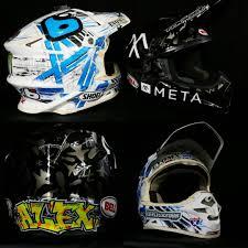 custom motocross helmet wraps show off your helmet wrap moto related motocross forums
