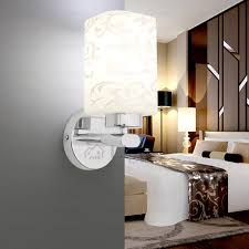chic stainless steel material fixture bathroom wall sconces