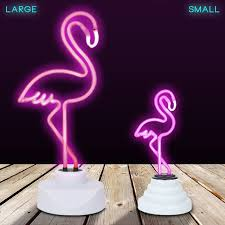 flamingo neon light sunnylife pink flamingo neon sign uk flamingo neon light amazoncouk