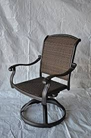 Patio Club Chairs Elizabeth Outdoor Patio 4 Swivel Rocker Club Chairs
