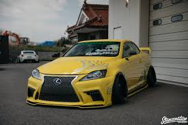 lexus yellow spotlight lexus is c by 326 power stancenation form