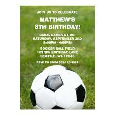soccer team invitations u0026 announcements zazzle