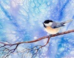 watercolor tutorial chickadee how to paint birds in watercolor simply quickly and expressively