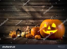 halloween pumpkin head jack lantern on stock photo 299077934