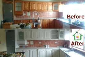 painted cabinets before and after respraying kitchen cabinets before after kitchen painting by cork