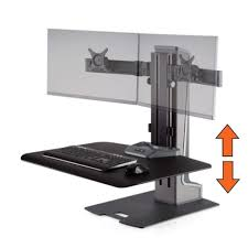 simple standing desk converter winston e electric dual monitor arm sit stand desk converter ebay
