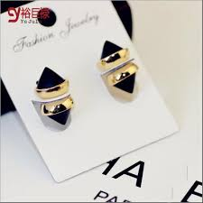 magnetic gold stud earrings silver magnetic earrings men promotion shop for promotional silver