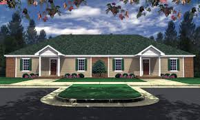Architecturaldesigns Com by Charming Duplex House Plan 59338nd 1st Floor Master Suite Cad