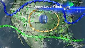 Las Vegas Weather Map by Forecast Update Stuck Between Two Weather Features Cbs Dallas