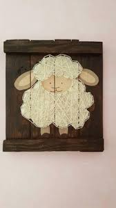 Sheep Nursery Decor Sheep Nursery Decor Nursery Rustic Sheep Decor Above