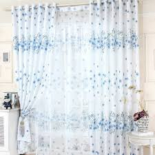 Curtain Fabric Ireland 4 Styles Of Blue And White Curtains