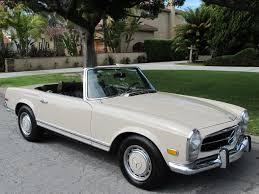 mercedes california 1969 mercedes 280sl california special beverly car