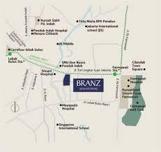 Smu Map Special Promo Apartement Branz Simatupang 0812 12 888