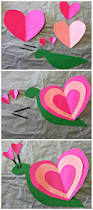 heart snail craft for kids valentine art project snail craft